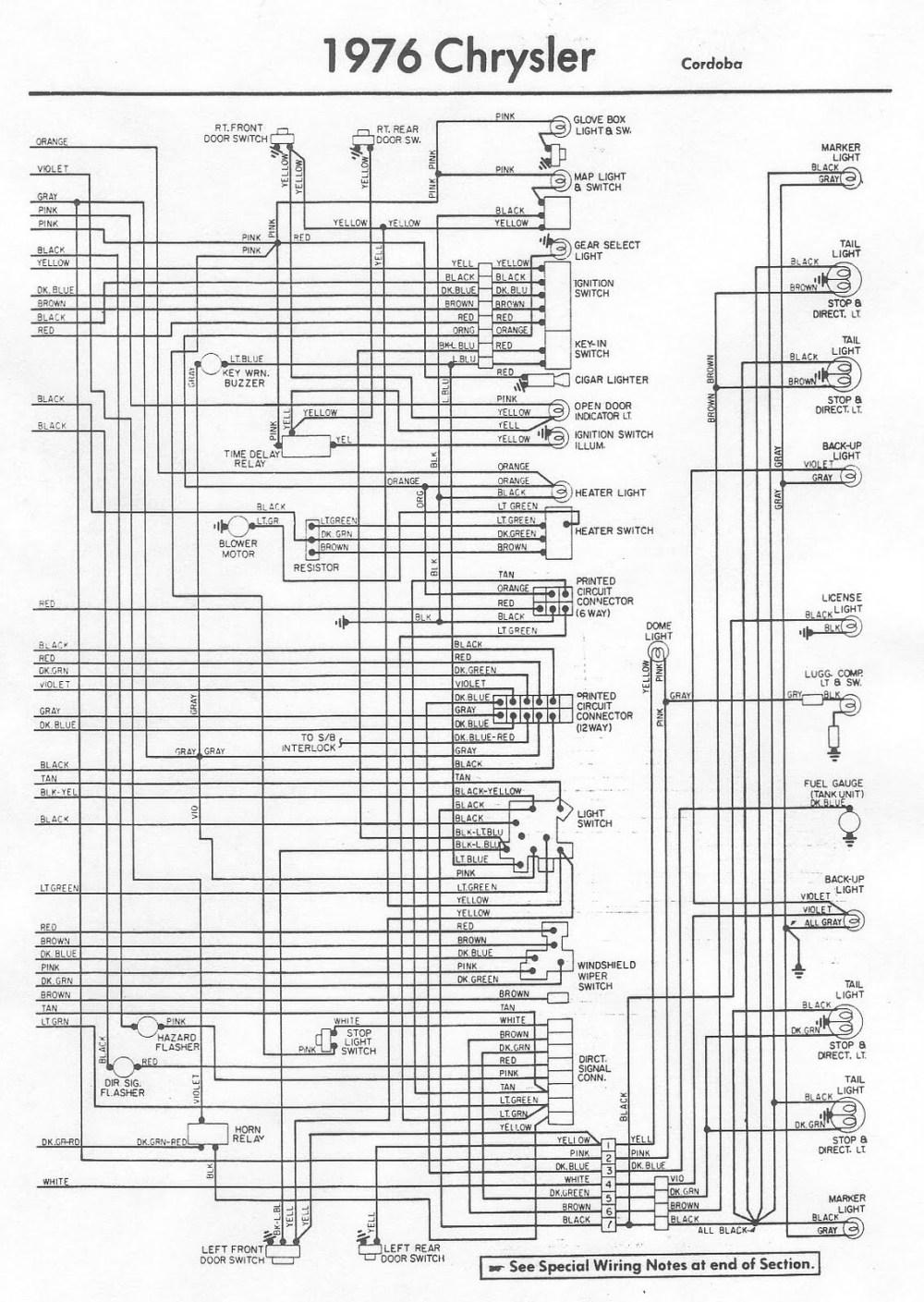 medium resolution of 76 chrysler cordoba