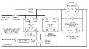Ford Taurus 2Speed Fan Install – Bob's Garage Library