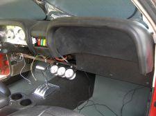 Racing gauge panel