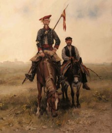 don-quijote-de-la-mancha-in-his-uniform-carlista-y-sancho-panza-augusto-ferrer-dalmau