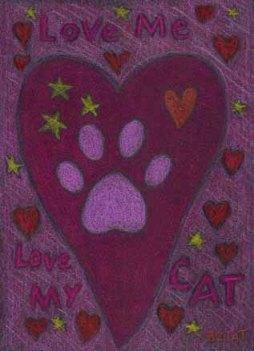 Love me Love my cat