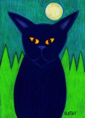 Black-cat-grass-landscape-drawing-BZTAT