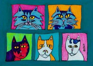 BZTAT's Fabulous Five Felines