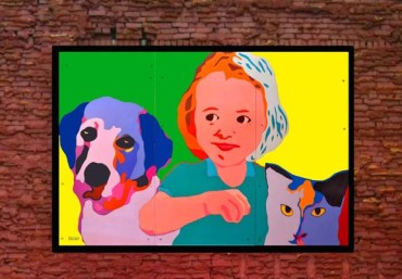 """Safe Animals Safe Kids"" mural in Canton, OH"