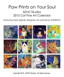 Order your 2015 BZTAT Studios Cat Art Calendar