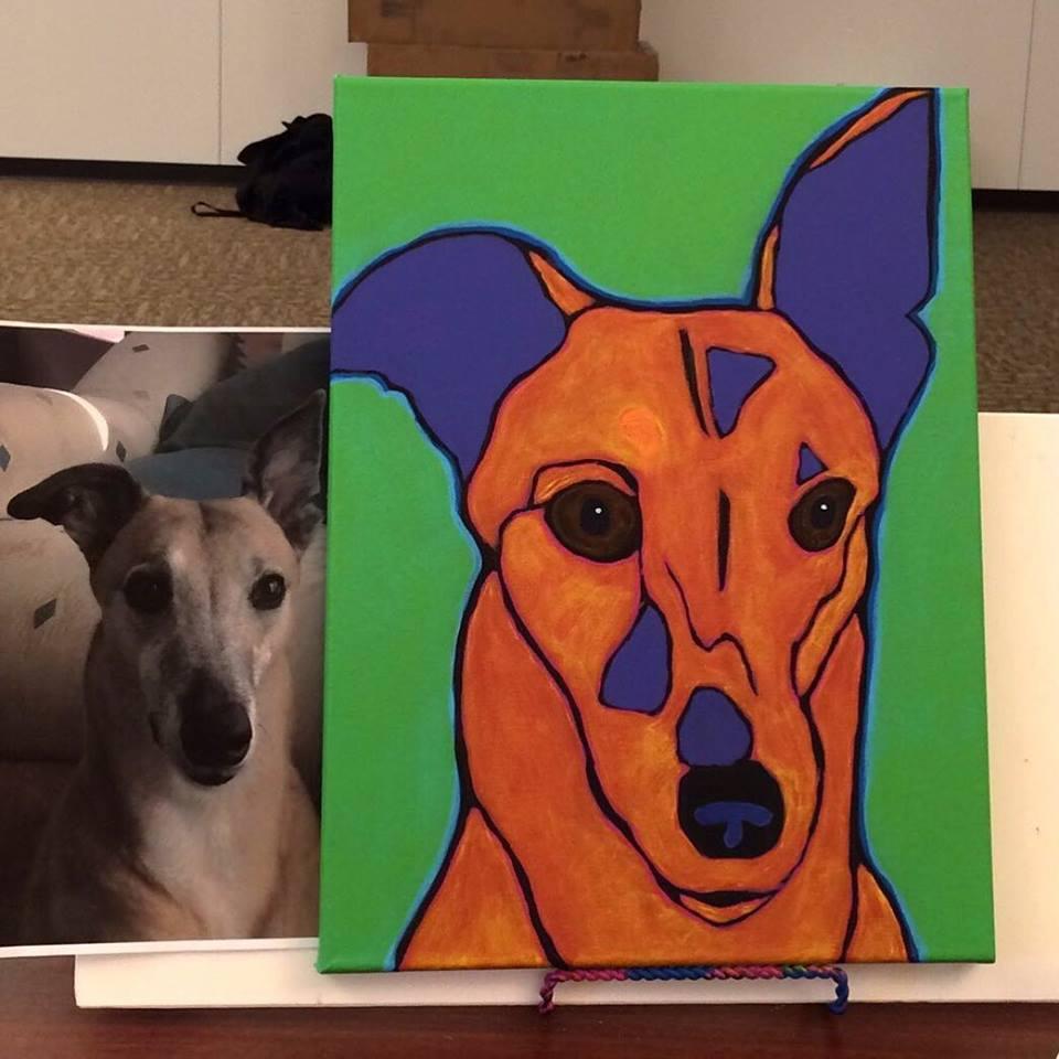 Pet Portrait Painting workshop by Artist BZTAT