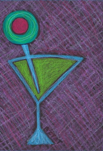 """""""Martini"""" Drawing by BZTAT"""