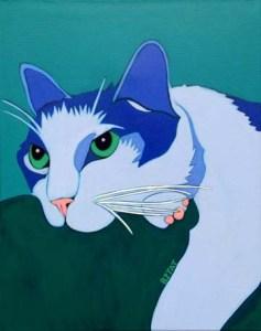 Cat Pet Portrait by BZTAT