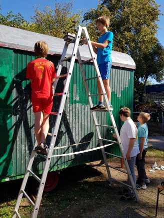 BeeKids Materialwagen renovieren_07