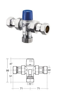 A.Shanks HC: Brassware - Thermostatic Mixing Valves (TMV3)
