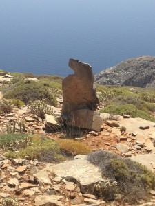 Azuurblauwe zee in Griekenland