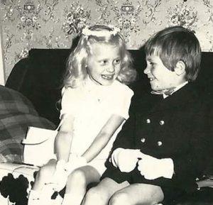 Vriendschap roest niet: christine-en-jean-claude-1971-eerste-communie