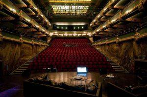 Theaterzaal Vooruit, uitzicht vanop het podium