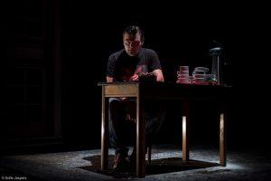 Hamlet van Abattoir Fermé, gespeeld door Stefan Degand