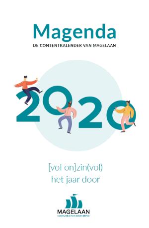 Magenda 2020, inhaakkalender 2020, contentkalender 2020