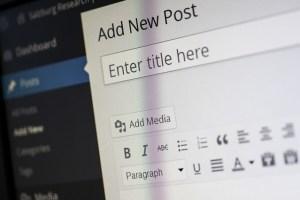 Maak zelf je eigen website met WordPress