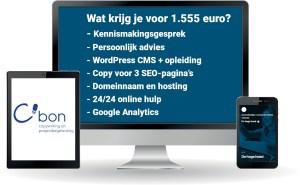 Website laten maken? Door C'bon natuurlijk!
