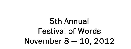 Festival of Words ~ Student Writing Contest