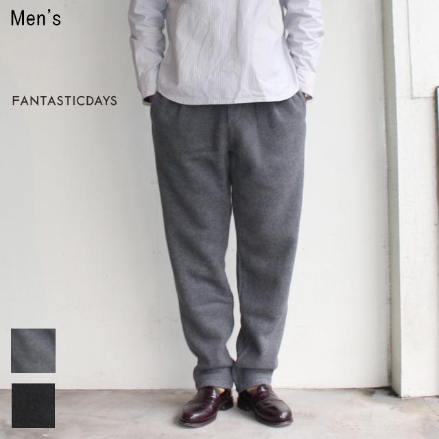 FANTASTICDAYS フリースイージーパンツ FLEECE-M-63-01 (GRAY)