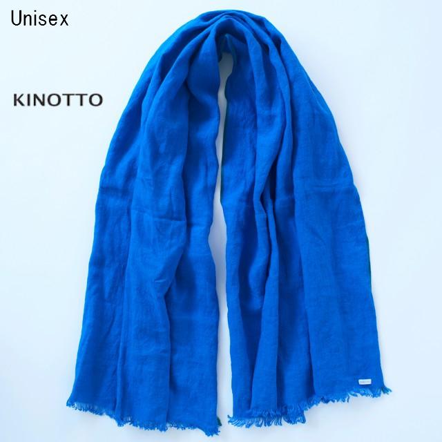 KINOTTO ガーゼストール Gaze Stole 251A-01 (BLUE)