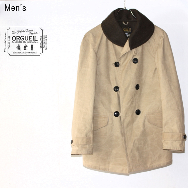 ORGUEIL ジープコート Jeep Coat OR-4050A (BEIGE)