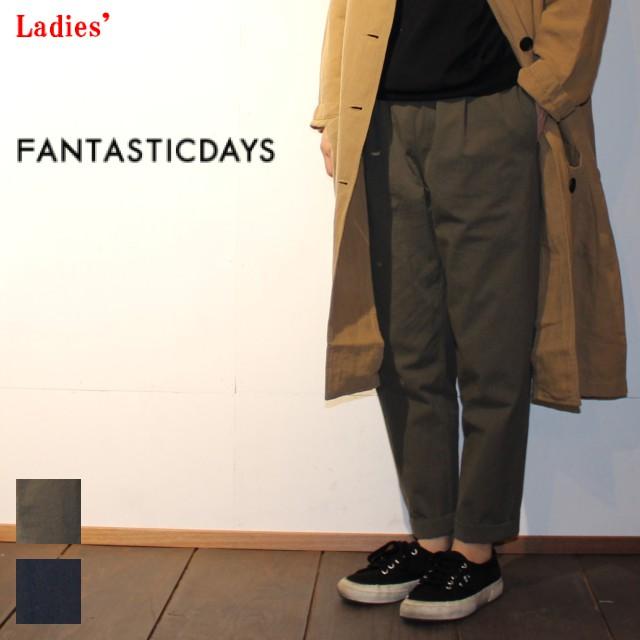 FANTASTICDAYS イージーアンクルパンツ TRINITY-71-01 (KHAKI , NAVY)
