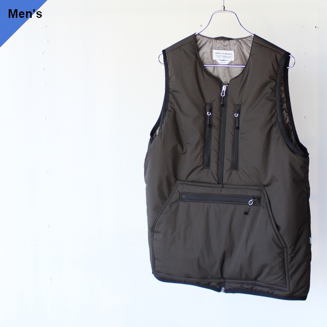 ENDS and MEANS エンズアンドミーンズ Tactical Puff Vest ブラック