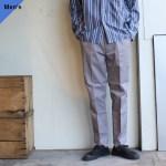 Au Vrai Chic Britain TC Easy Trousers (Dove gray)