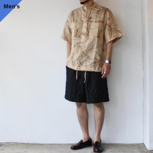 HAVERSACK デザートボタニカルプルオーバーシャツ