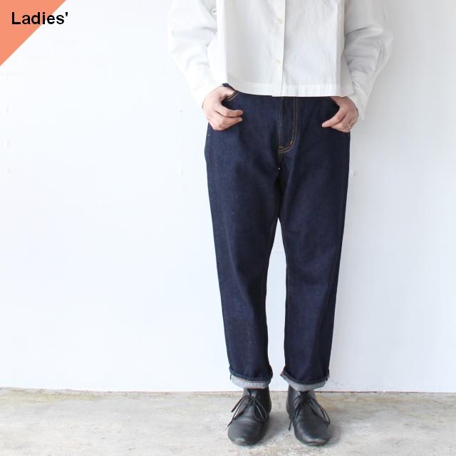 TEXTURE WE MADE デニムアンクルパンツ 12oz Cropped Jeans (Indigo)