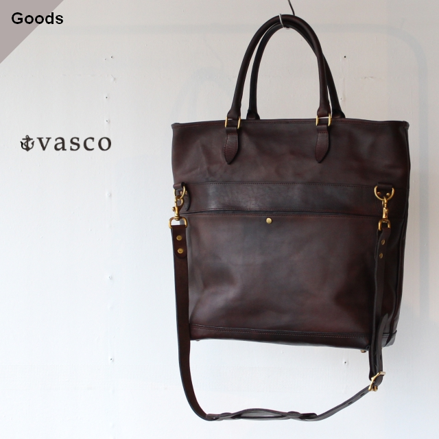 vasco ヴァスコ LEATHER NELSON 2WAY BAG VS-244LS ブラウン