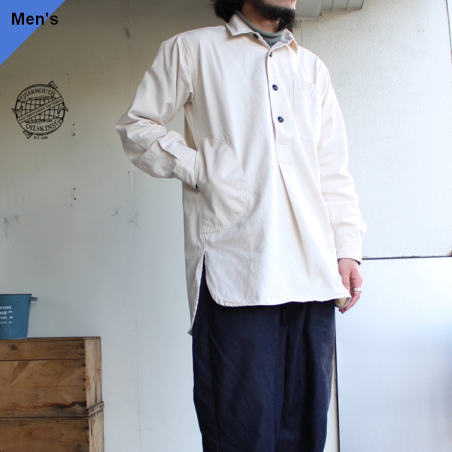 Yarmouth Oilskins ワーカーシャツ The Worker Shirt ナチュラル