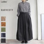 HARVESTY サーカスキュロット CIRCUS CULOTTES A21609 (BLACK)