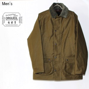ORGUEIL ワーカーズコート Workers Coat OR-4087 (GREEN)