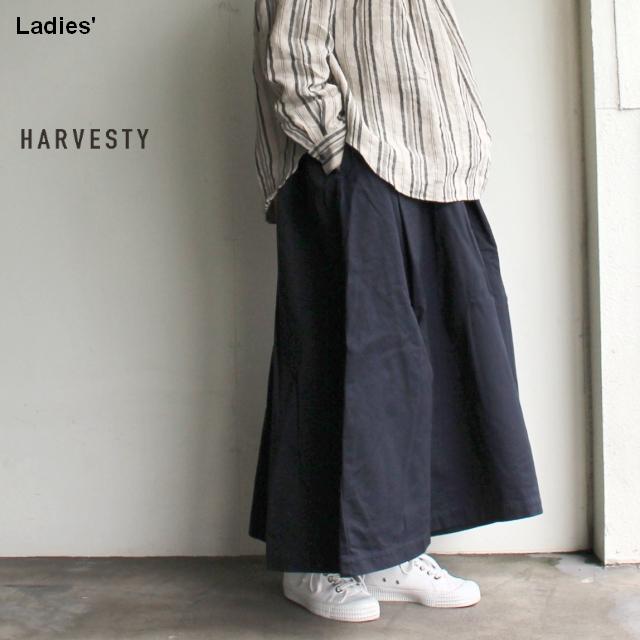 HARVESTY カルメンキュロット Carmen Culottes  A21802 (ネイビー)