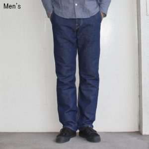 ORGUEIL リネンデニムトラウザー Linen Denim Trousers OR-1040B (ONE WASH)
