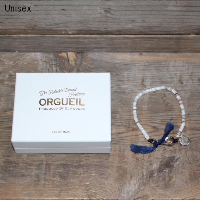 ORGUEIL  シェルブレスレット Shell Bracelet OR-7062 (WHITE)