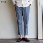 ORGUEIL シャンブレーアンクルトラウザー 8-Length Trousers  OR-1043 (BLUE)