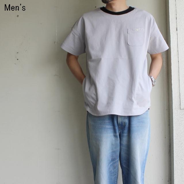 weac. コットンリネンプルオーバーシャツ CAVANI (GRAY)