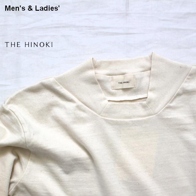THE HINOKI オーガニックコットンスクエアネックTee L/S (Natural)