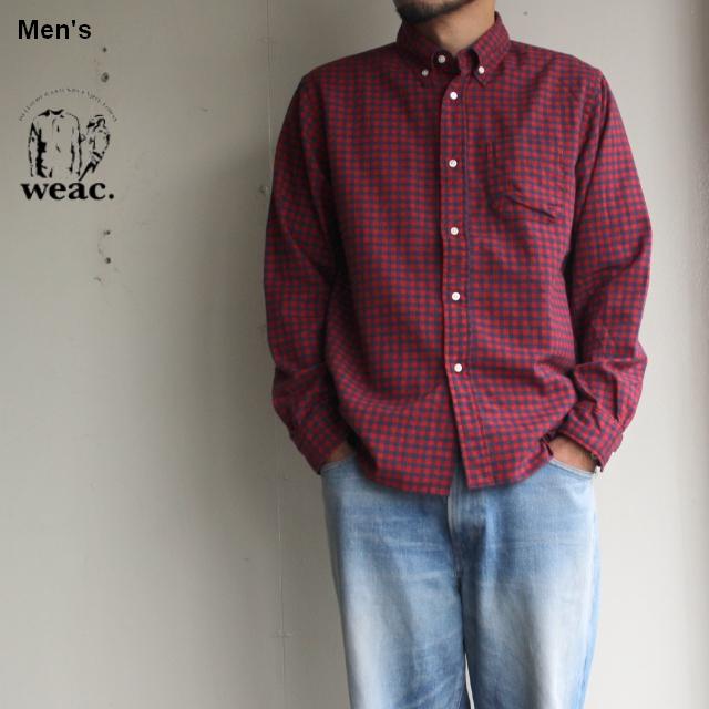 weac. ALBINI ネルチェックシャツ