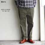 ENDS and MEANS  ワークチノ Work Chino  EM-ST-P01 (OLIVE)