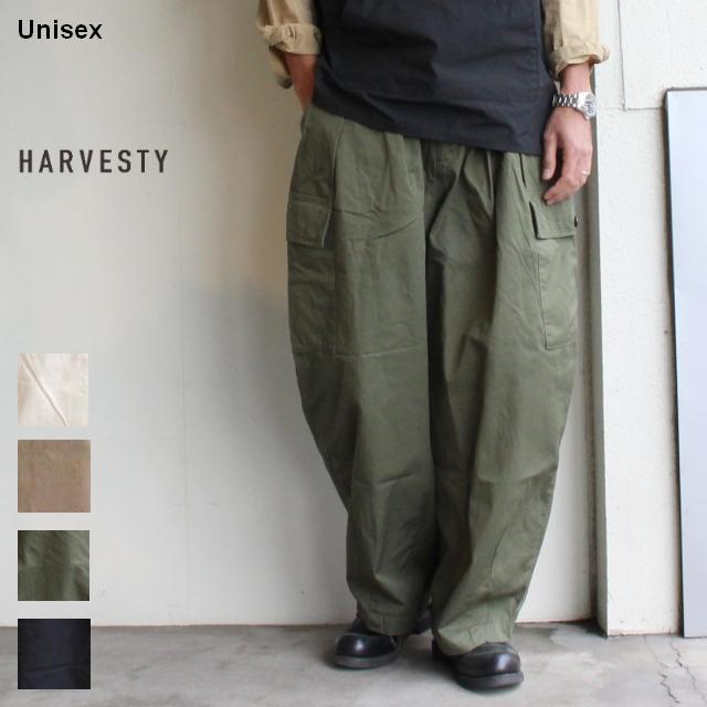 HARVESTY サーカスカーゴパンツ Circus Cargo Pants A11908 4カラー