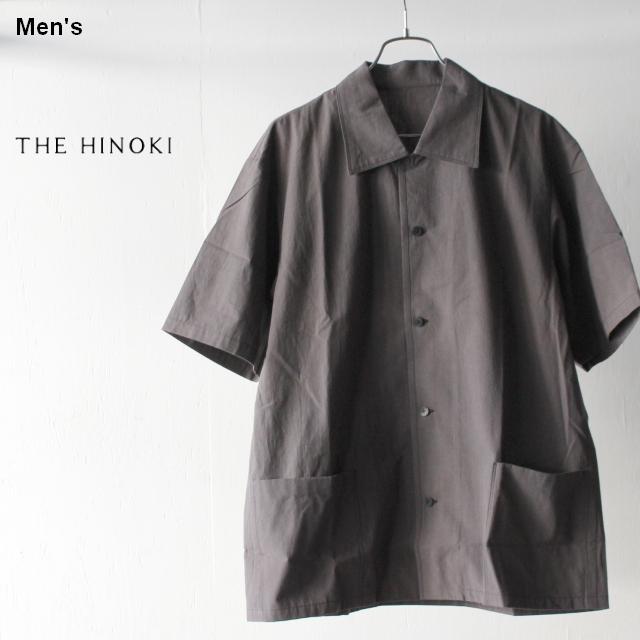 THE HINOKI コットンボイルパラシュートクロスHSシャツ TH19S-11 (ダークグレー)