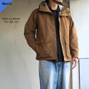 ENDS and MEANS  Sanpo Jacket EM-ST-J01 モカ