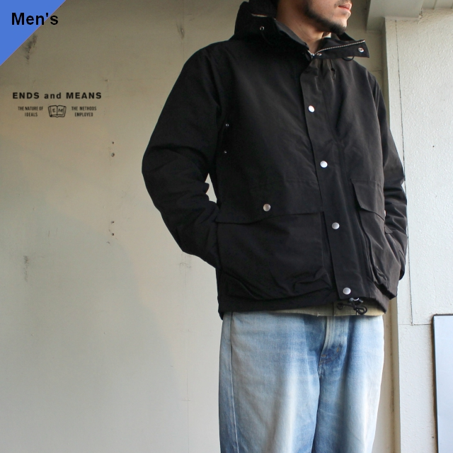 ENDS and MEANS  Sanpo Jacket EM-ST-J01 ブラック