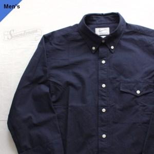 Soundman オックスフォードBDシャツ BostonⅡ 215M-965O ネイビー