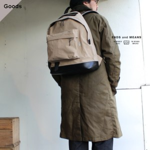 ENDS and MEANS  Daytrip Backpack デイパック EM-ST-A03-AW19 ベージュ