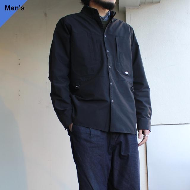Mountain Smith STリサイクルナイロンBDシャツ ブラック