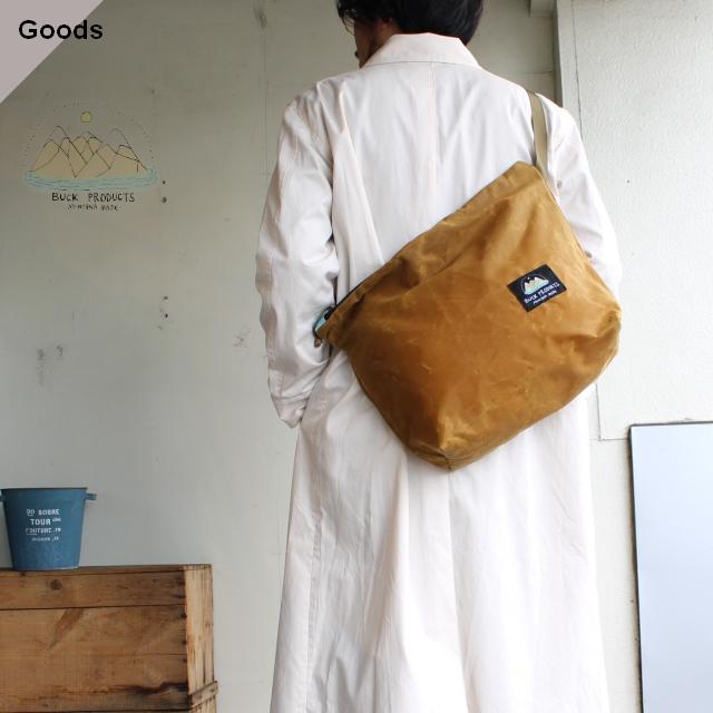 BUCK PRODUCTS ワックスコーティングショルダーバッグ Shoulder Bag